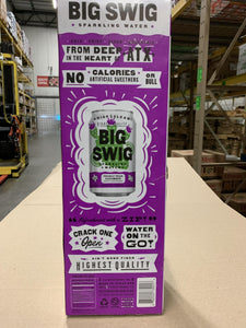 Water, Big Swig Sparkling Prickly Pear, 12-Pack - Hardie's Direct Houston, TX