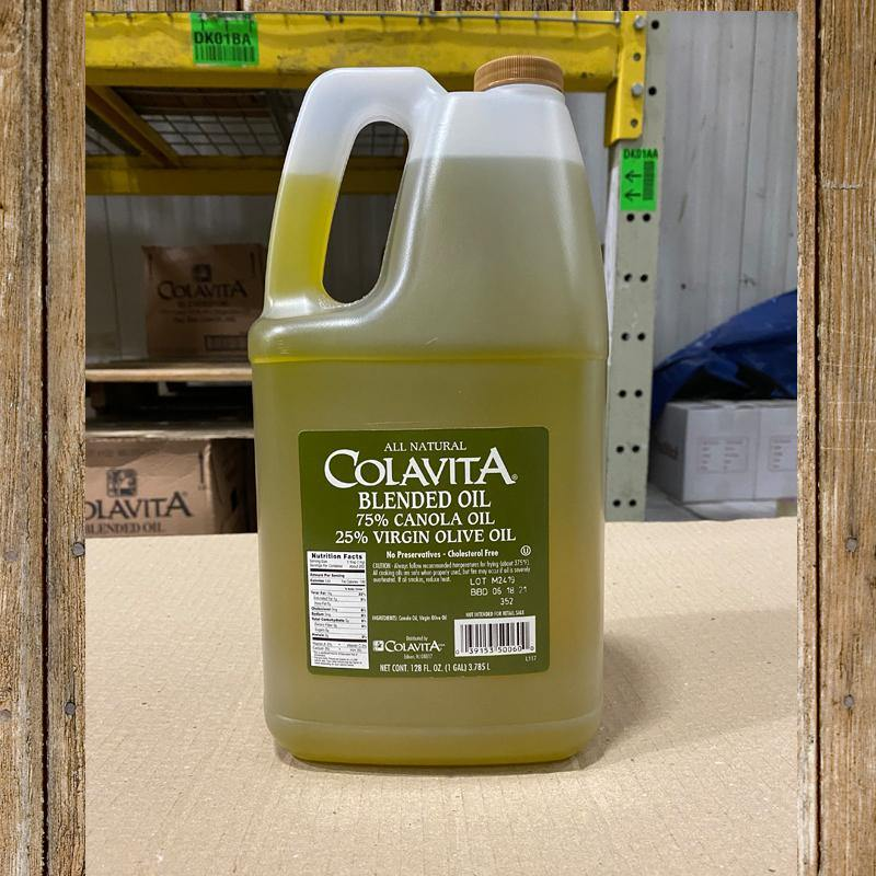 Oil, Blended Canola/Extra Virgin Olive 1 Gal - Hardie's Direct Houston, TX