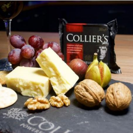 Collier's Welsh Cheddar Cheese - Hardie's Direct, HoustonTX