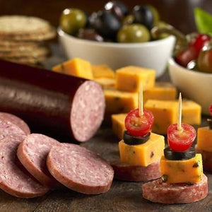 Nueske's Applewood Smoked All Beef Summer Sausage - Hardie's Direct, Austin  TX