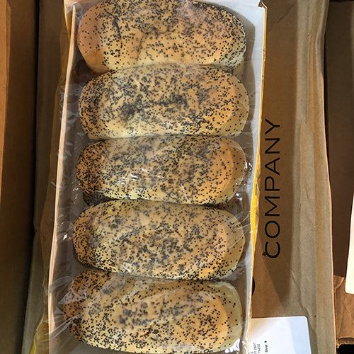 Vienna Poppy Seed Hot Dog Buns - Hardie's Direct, Houston TX