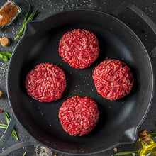 Load image into Gallery viewer, Beef, Wagyu 8oz Burger Patties, 10lb case