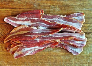 Bacon, Cherrywood Maple Smoked Bacon, Thick Slice 5lb