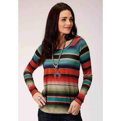 Tasha Polizzi, Maria Serape Button up