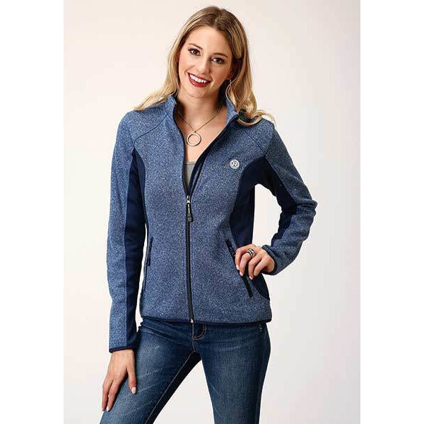Roper Zip up Bonded Fleece Jacket - All Blinged Out/Calamity's