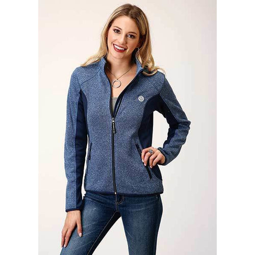 Roper Zip up Bonded Fleece Jacket