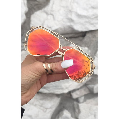 Topfoxx Arrest Me sunnies - All Blinged Out/Calamity's