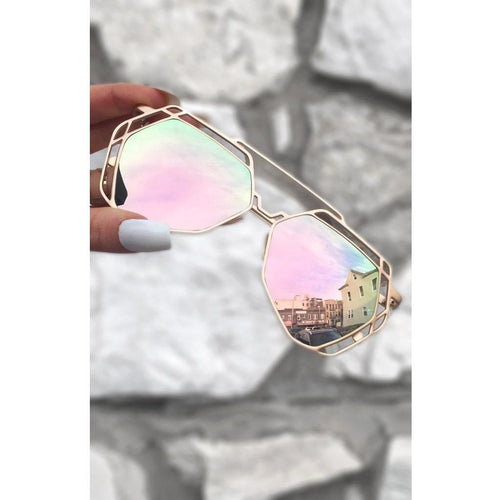 Topfoxx Arrest Me sunnies - All Blinged Out