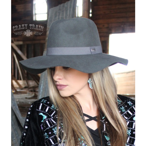 Smoking Grey Hat - All Blinged Out/Calamity's