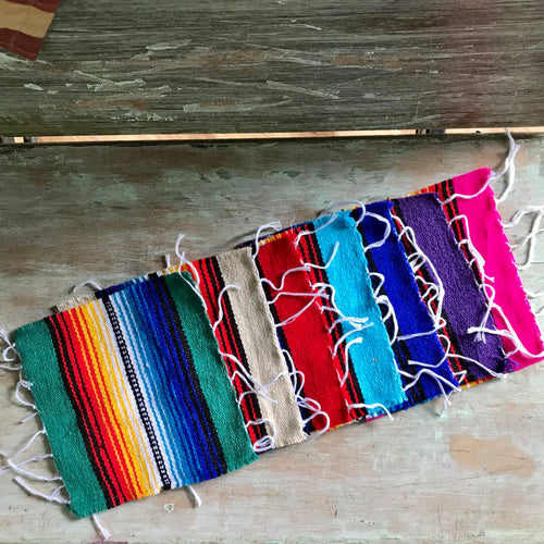 Serape Drink Coaster - All Blinged Out/Calamity's