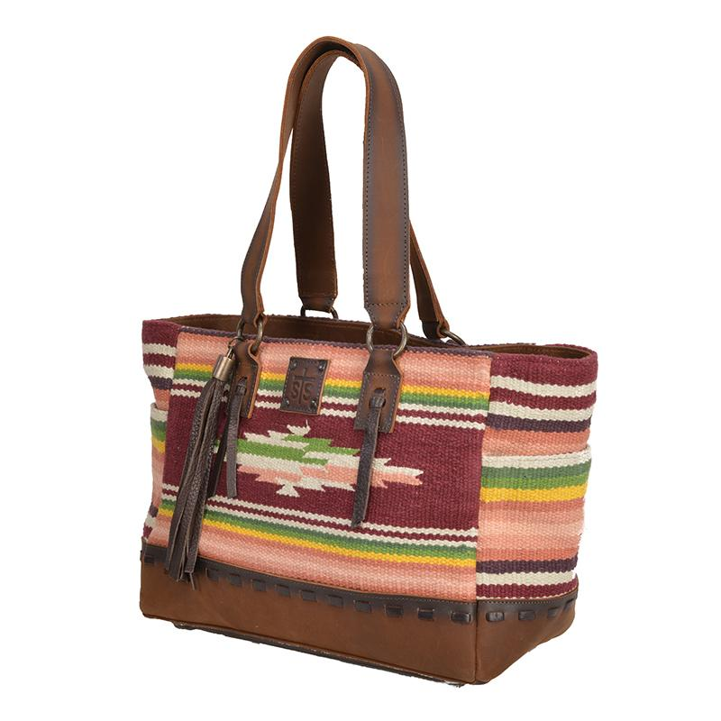 Buffalo Girl Tote, by StS Ranchwear-Handbag-[Womens_Boutique]-[NFR]-[Rodeo_Fashion]-[Western_Style]-Calamity's LLC
