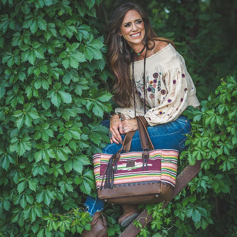 Buffalo Girl Tote, by StS Ranchwear - All Blinged Out/Calamity's