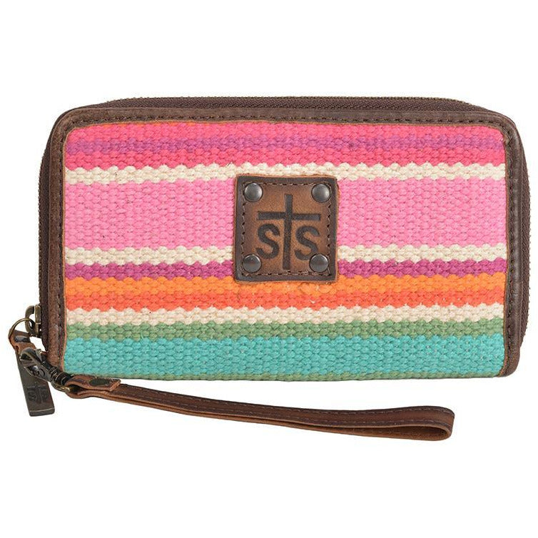 STS Cactus Serape Wristlet - All Blinged Out/Calamity's