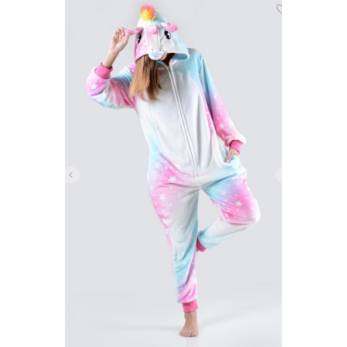Unicorn Onesie Adult Size - All Blinged Out/Calamity's