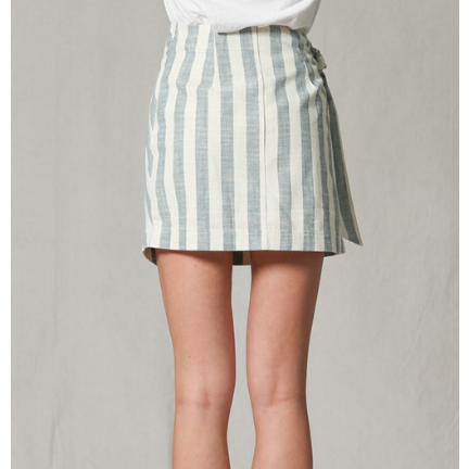 Blue and White Highwaisted Skirt, by Together - All Blinged Out/Calamity's