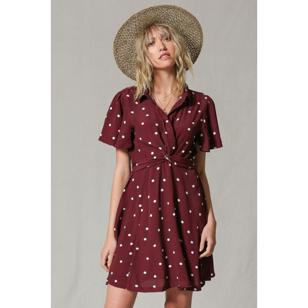 The Belle Polka Dot Dress, by Together - All Blinged Out/Calamity's