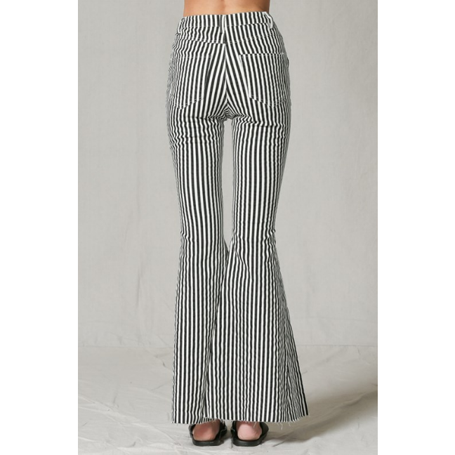 Striped High Waist Bells, by Together - All Blinged Out/Calamity's