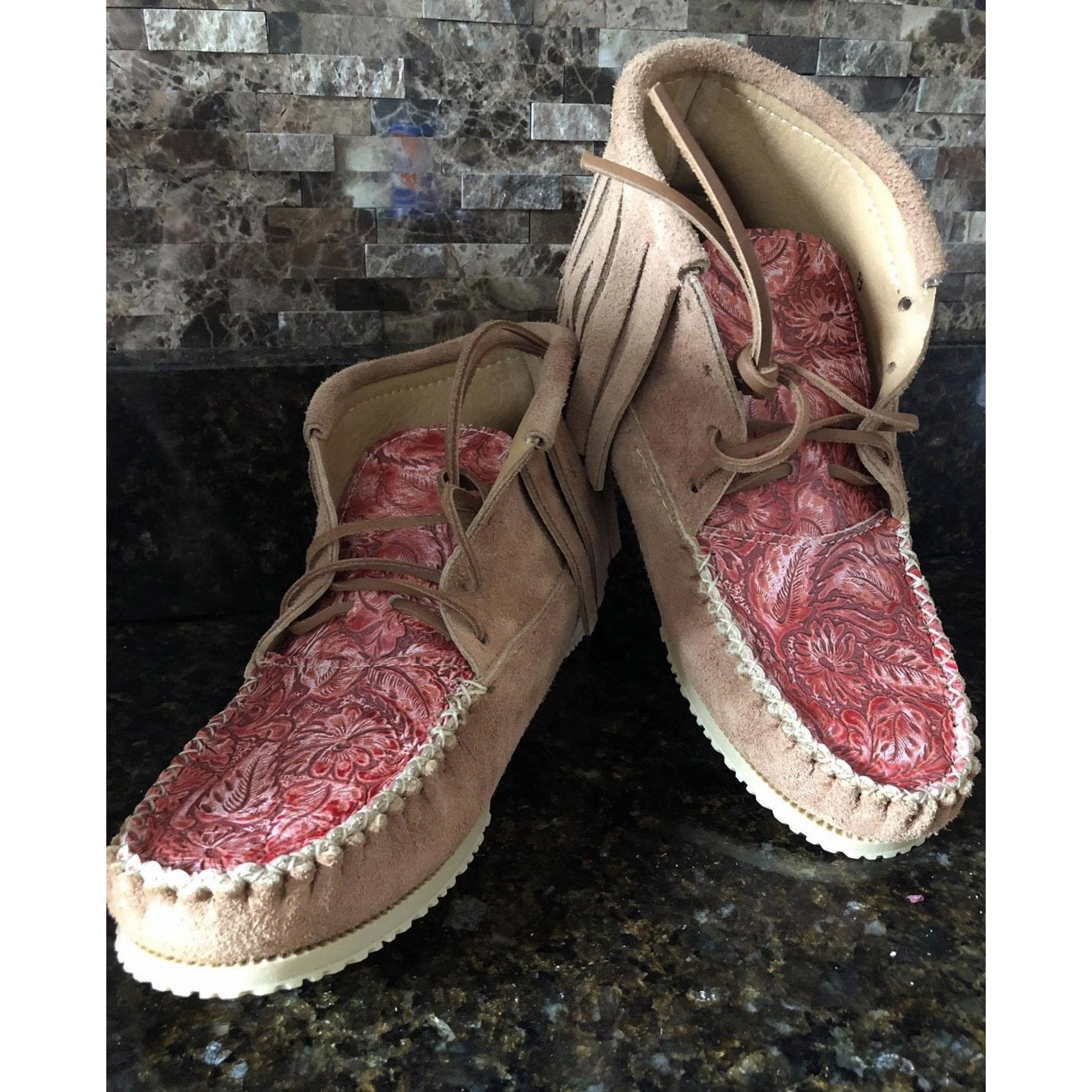 Handmade Moccassions - All Blinged Out/Calamity's