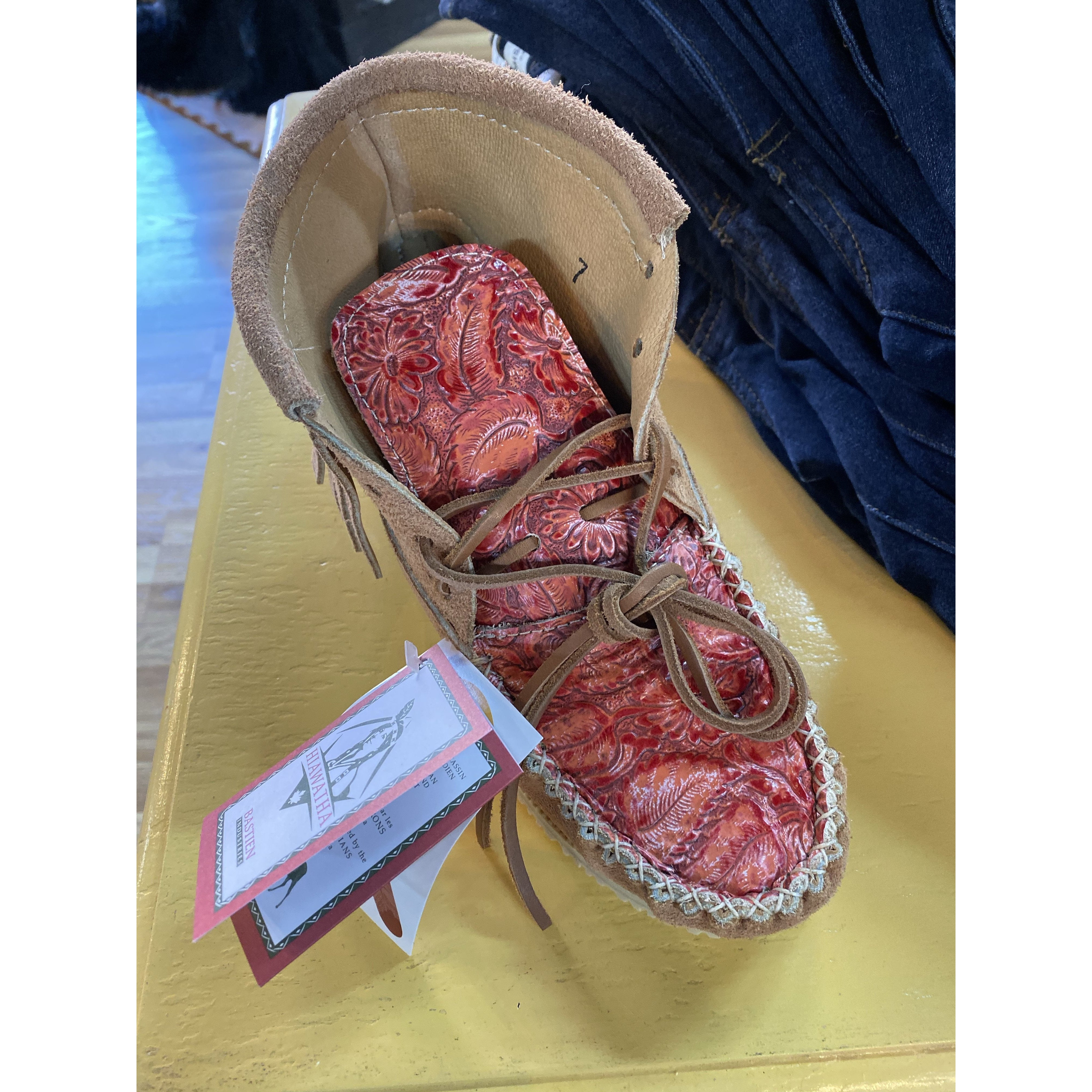 Handmade Moccassions-Shoes-[Womens_Boutique]-[NFR]-[Rodeo_Fashion]-[Western_Style]-Calamity's LLC