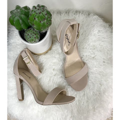Hot Nude Heels - All Blinged Out/Calamity's