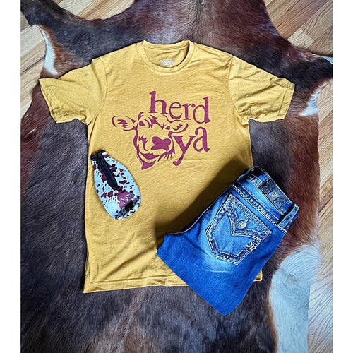Herd ya, Graphic T-[Womens_Boutique]-[NFR]-[Rodeo_Fashion]-[Western_Style]-Calamity's LLC