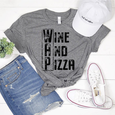 Basic Heather Gray top, by Roper