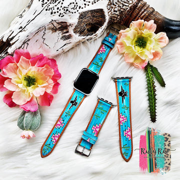 Hand painted Watch Bands