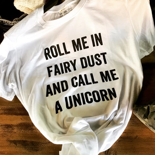 Unicorn fairy T PRE-ORDER - All Blinged Out/Calamity's