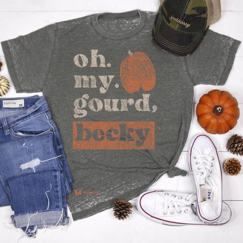 Oh My Gourd, Becky T-Shirt-[Womens_Boutique]-[NFR]-[Rodeo_Fashion]-[Western_Style]-Calamity's LLC