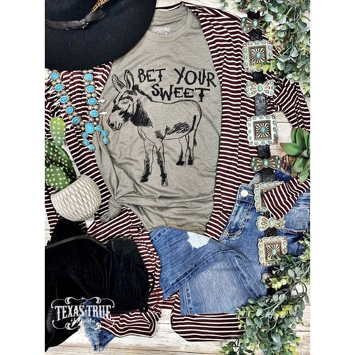 You bet your Sweet A. Graphic T-[Womens_Boutique]-[NFR]-[Rodeo_Fashion]-[Western_Style]-Calamity's LLC