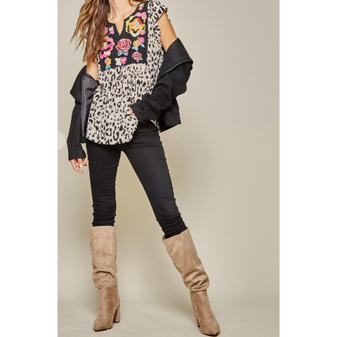 Kids Sherpa Cowprint pullovers