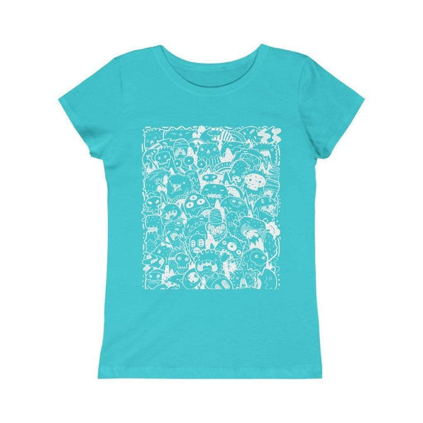 Kids clothes Cute Monsters | Girls Princess Juniors Tee KRG Prints