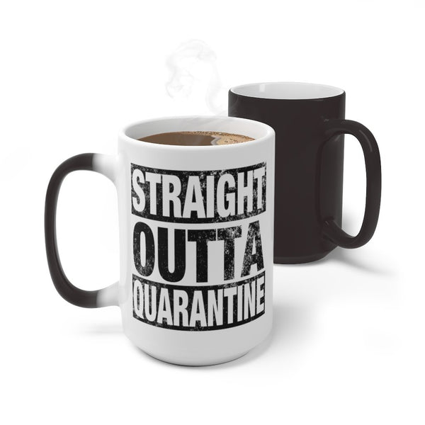 Mug 15oz Magic Color Changing Mug | Color Changing Mug | 11oz or 15oz KRG Prints