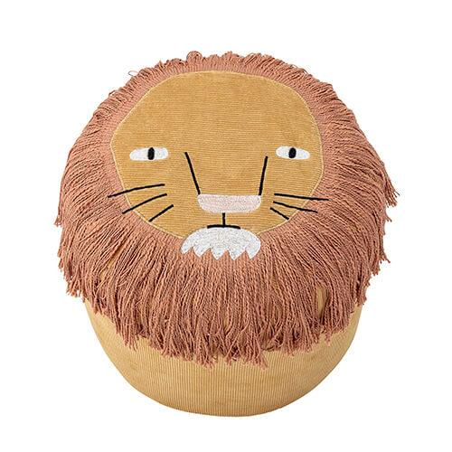 schattige lion poef bloomingville mini lollipop rebels