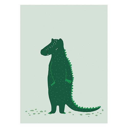 stoere mr crocodile poster trixie baby lollipop rebels