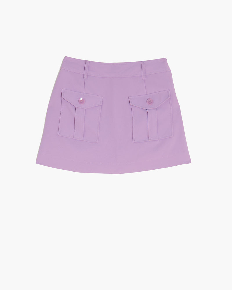 The Essex Mini Skort- Violet
