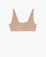 The Greenwich Bralette- Tan