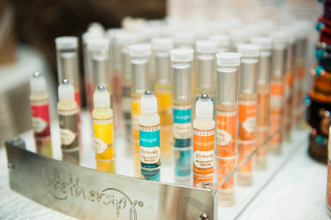 Pulse point oil roll on perfumes