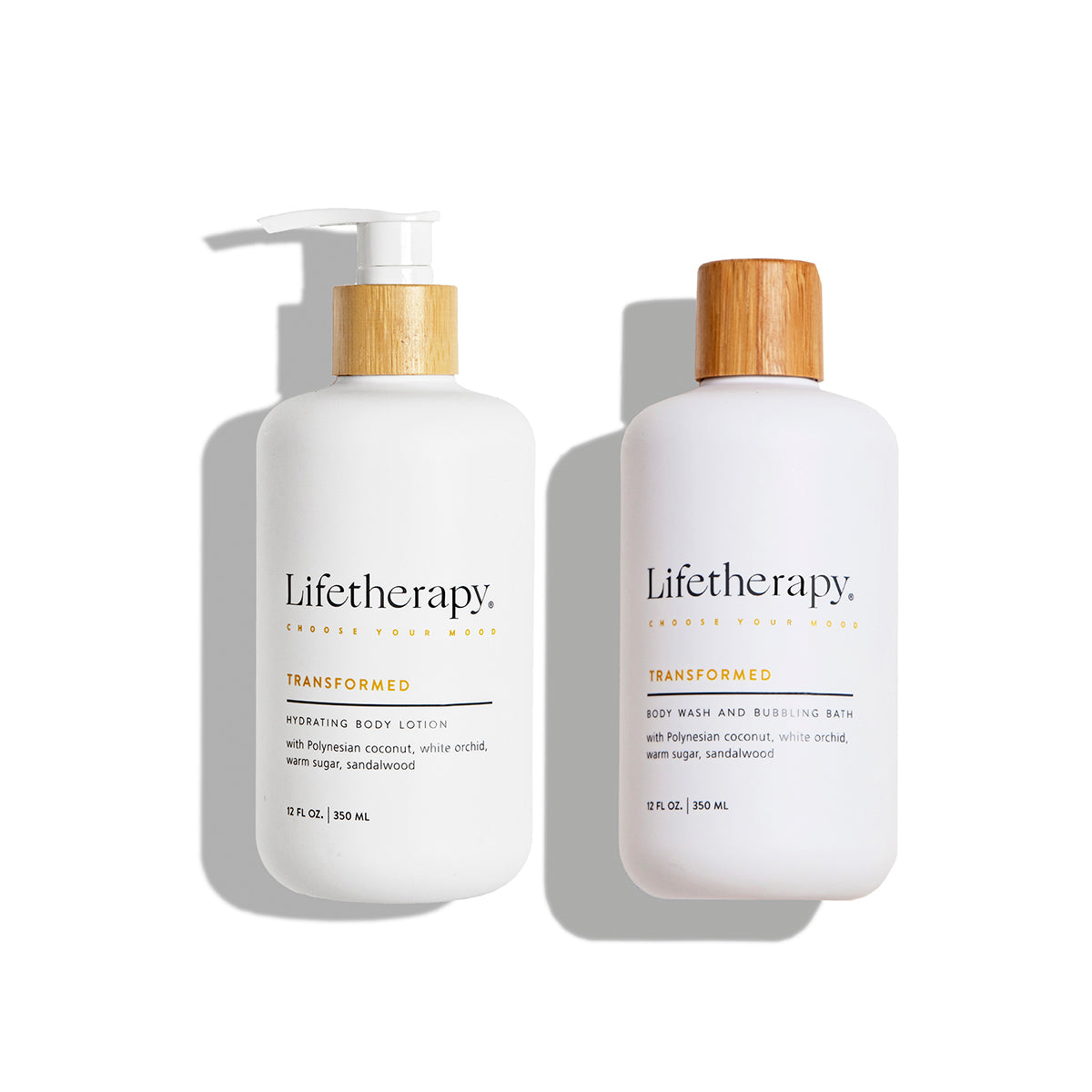 Transformed Body Lotion & Wash Bundle