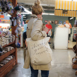 Choose your Mood Canvas Tote Bag - Grey