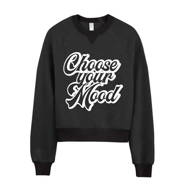 Choose Your Mood Logo Sweatshirt - Dark Grey