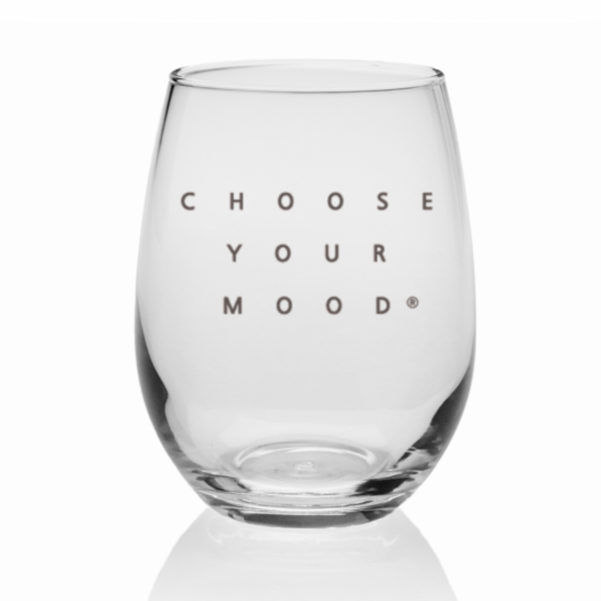 Choose Your Mood Wine Glass - 9 OZ.