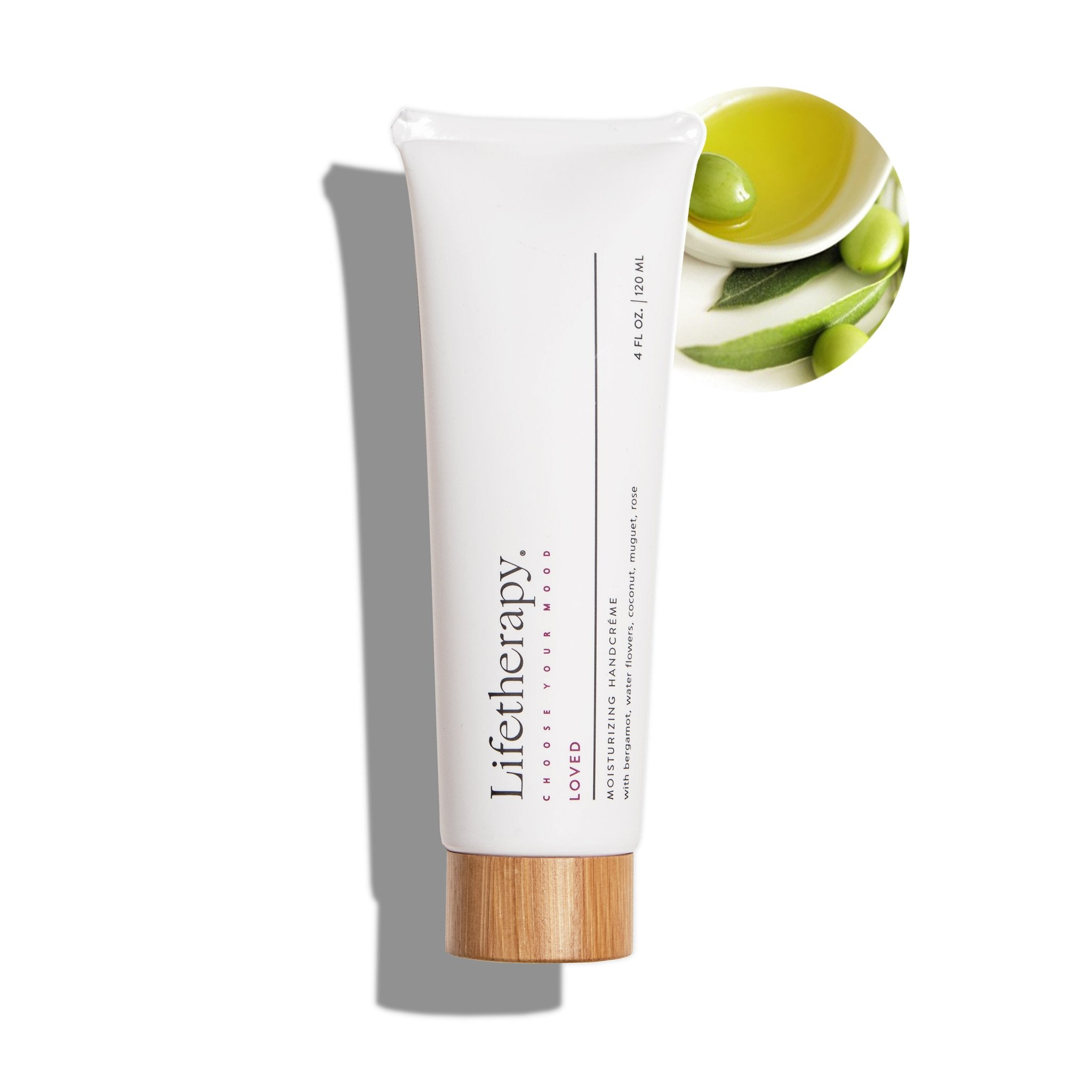 Best olive oil moisturizing handcreme by Lifetherapy