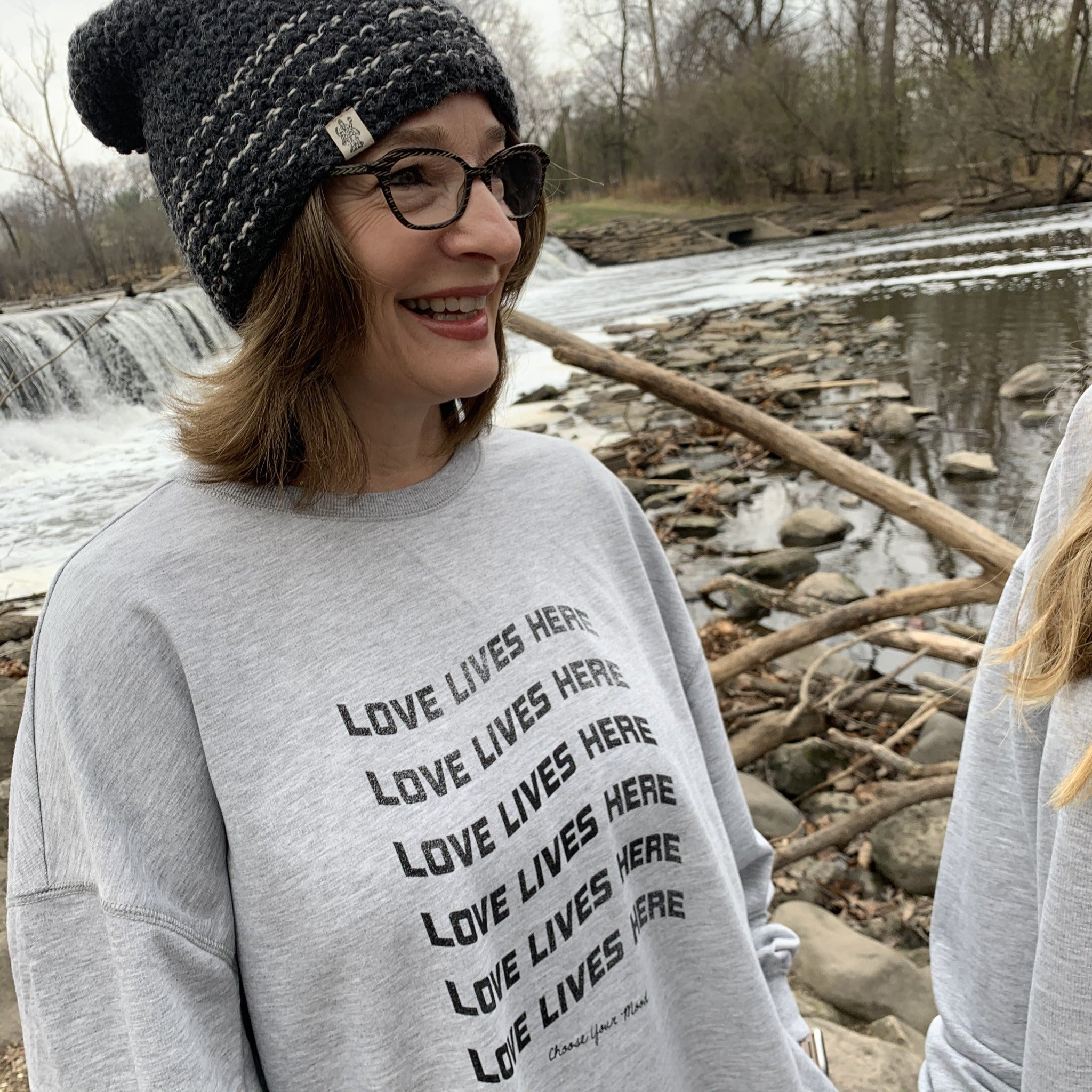 Love Lives Here French Terry Sweatshirt