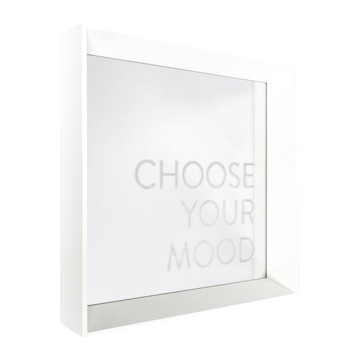 Choose Your Mood Etched Mirror