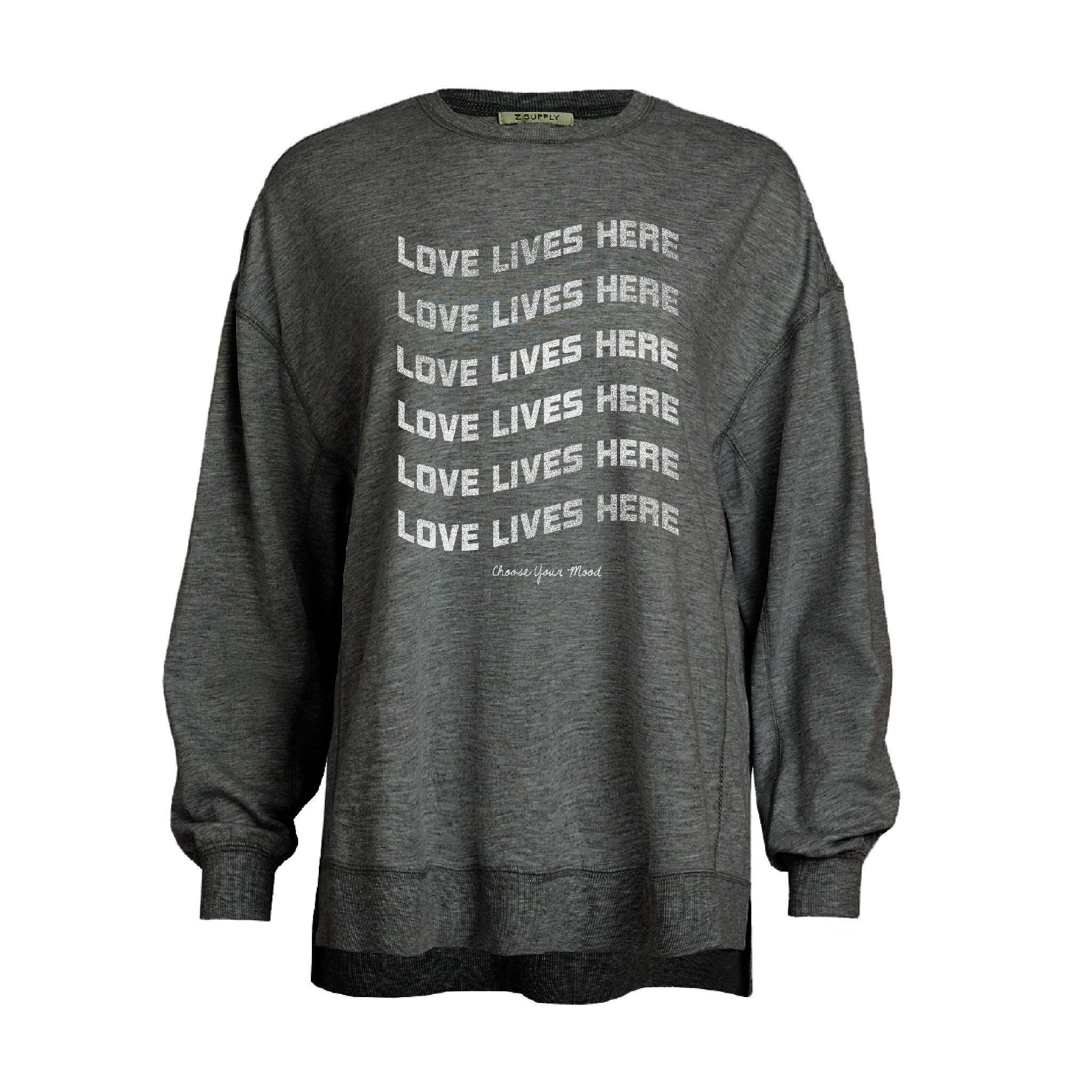 Love Lives Here in Soft Black