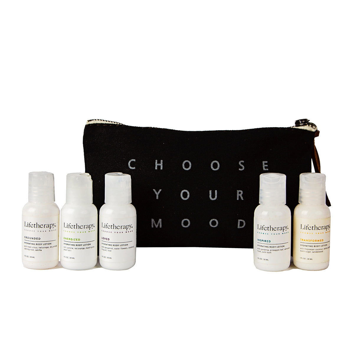 Travel Body Lotion Gift Pouch
