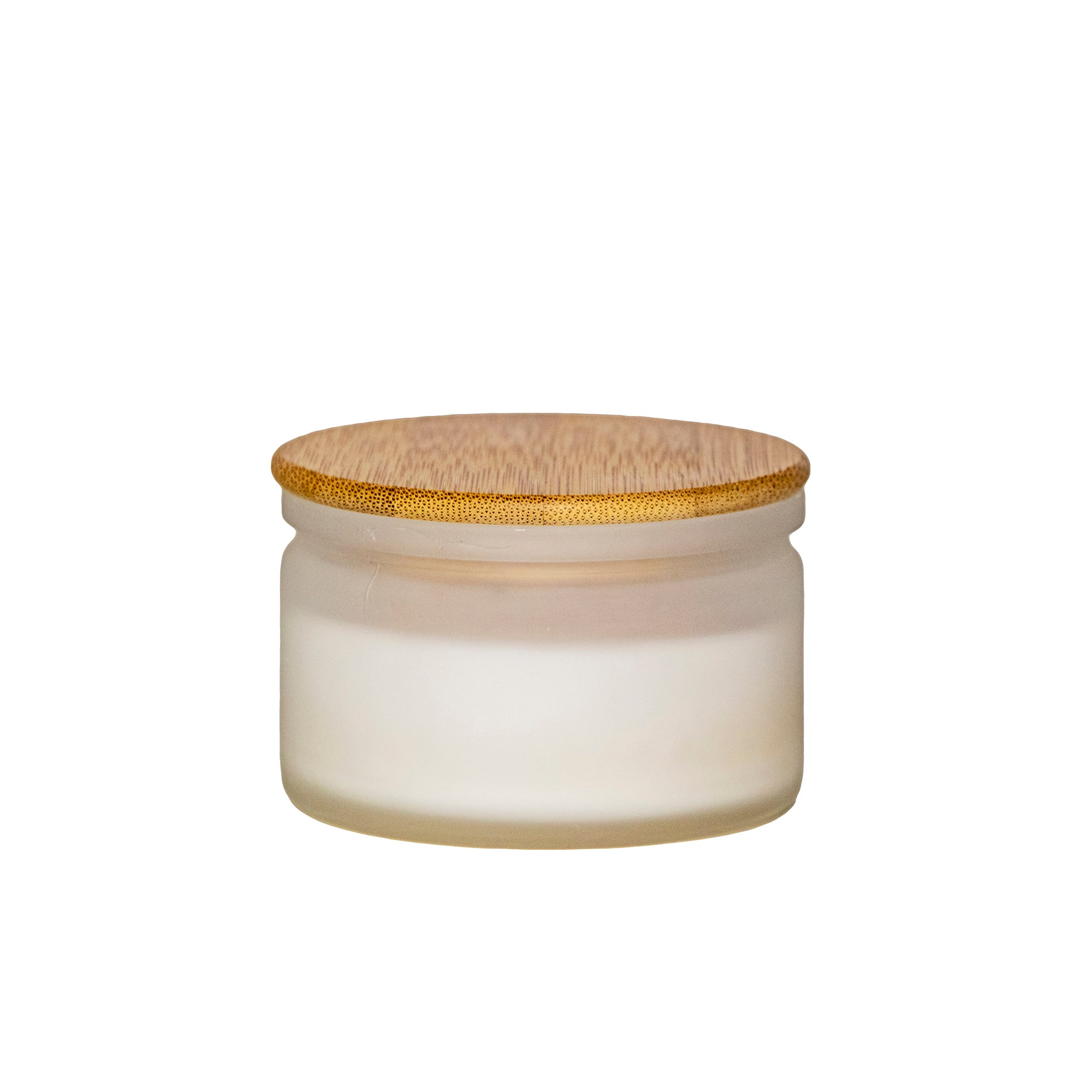lux travel candle with lid