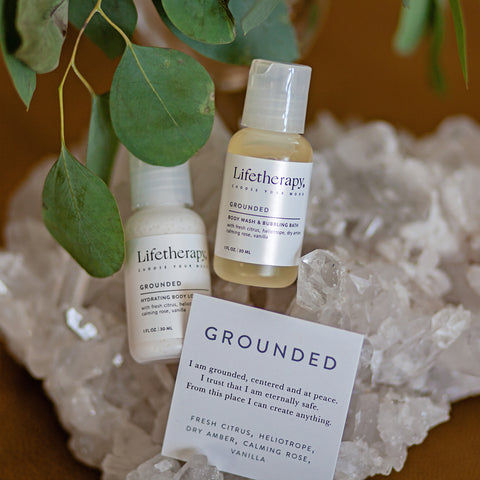 Grounded Body Lotion & Wash Duo