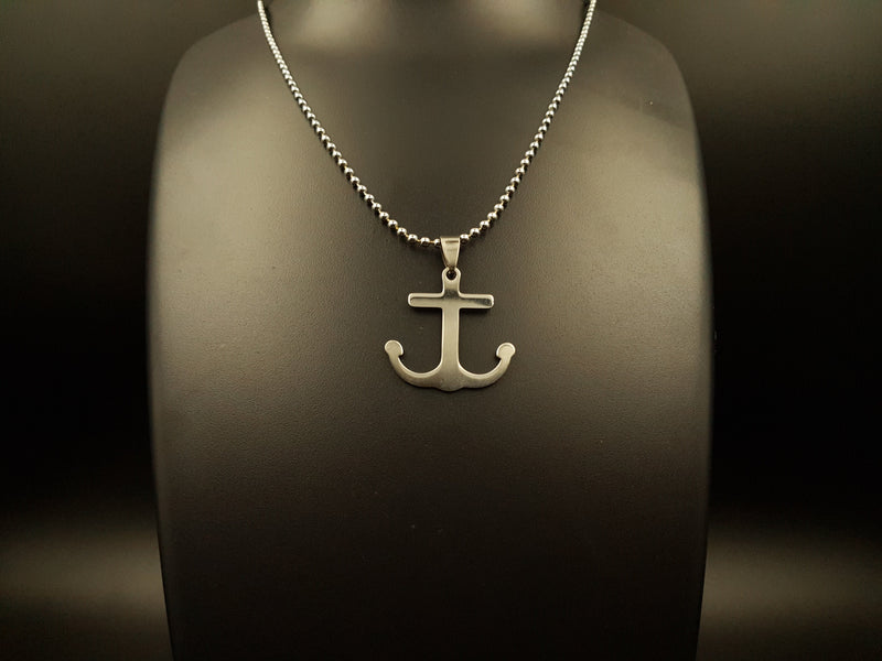 Trendy Anchor Pendant Chain